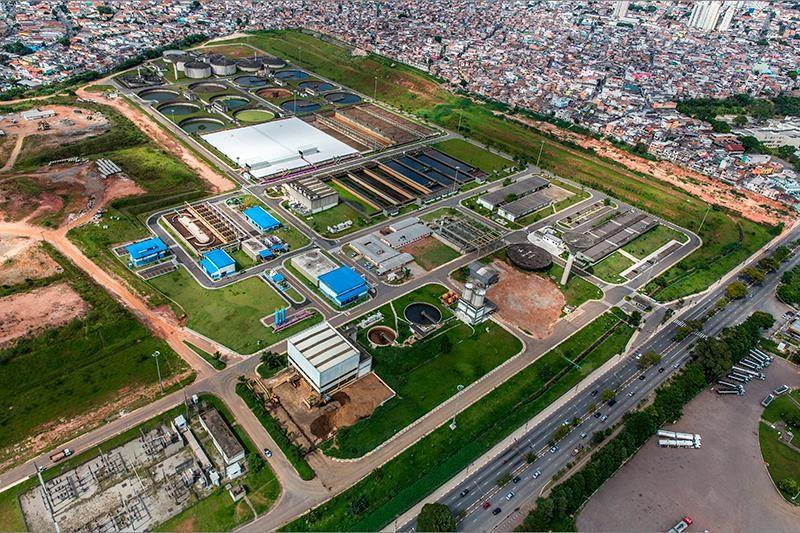 參訪巴西聖保羅市 Aquapolo Ambiental 污水回收處理廠