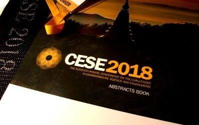"""本公司參加第十一屆國際 """"環境科學與工程的挑戰研討大會(CESE-2018)"""",並發表二項研發成果 !"""